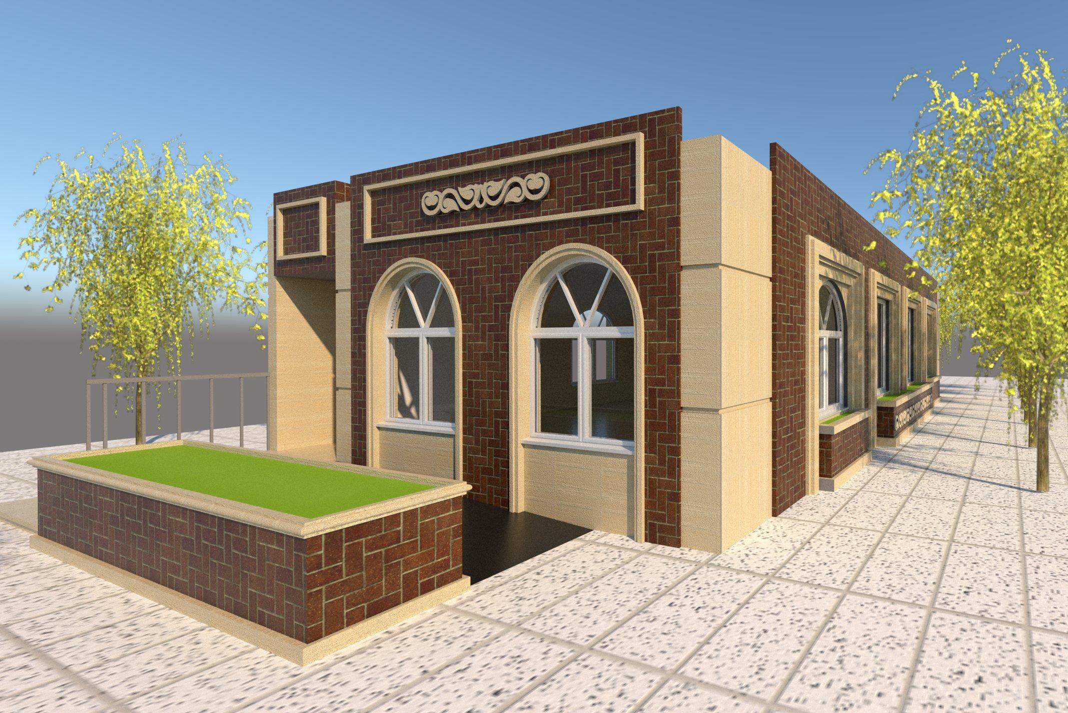طراحی ساختمان قرائت خانه پارک رستگاری مقدم- شهرداری منطقه 5 مشهد